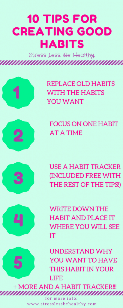 Want good habits? Try this! good habits, creating good habits, habit tracker, make life simple
