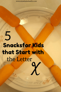 snacks that start with x