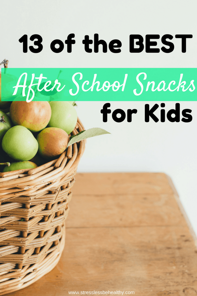 after school snacks for kids
