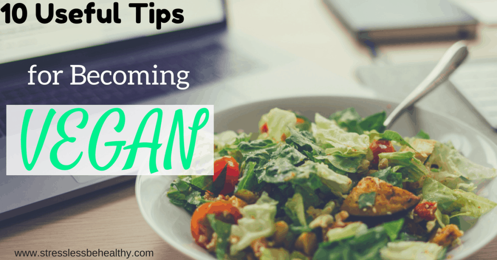 tips for becoming vegan