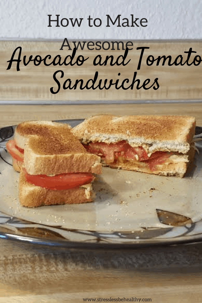avocado tomato sandwich