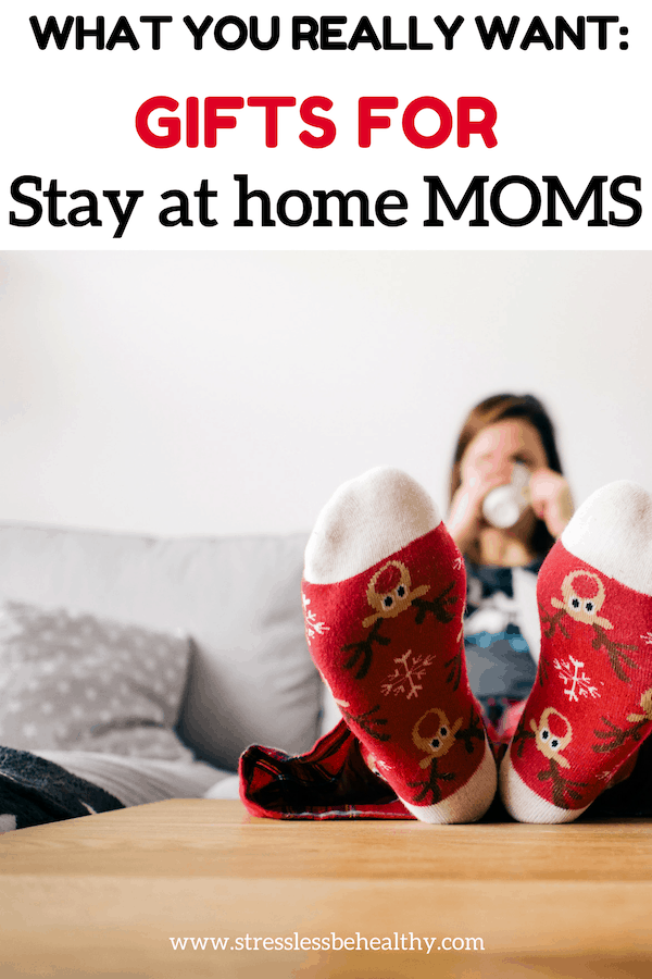 Wondering what in the world to ask for, for yourself, for Christmas? As a stay at home mom it's hard to know what we want. Check out this gift guide for some ideas you'll love! #giftsformom #giftguide #gifts #christmas #momlife #stresslessbehealthy