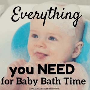Wondering what essential products you need for baby bath time? Find out here and get a handy checklist to make sure you have what you need!