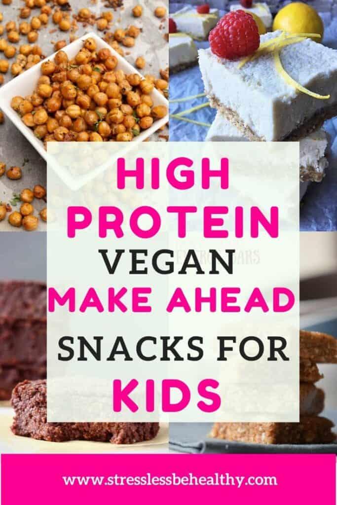 high protein vegan snacks for kids