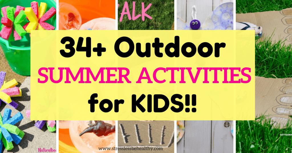 fun summer activity ideas for kids
