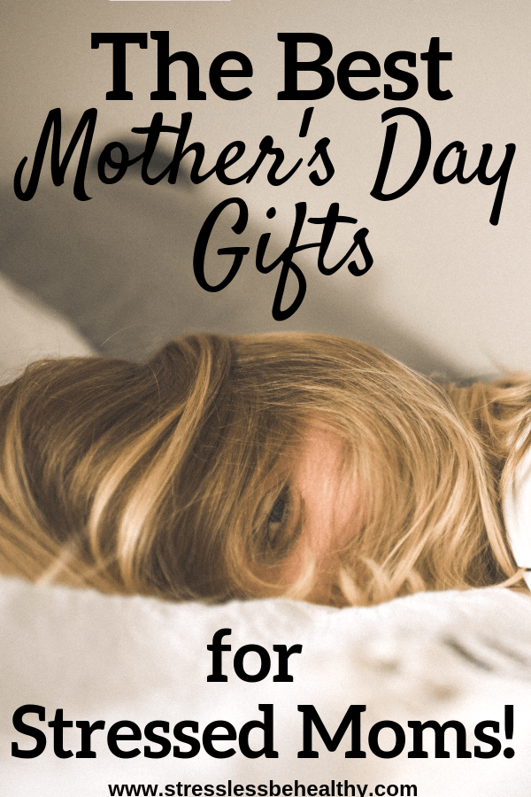 stressed mom, tired mom, what to give a stressed mom, mothers day, let mom sleep