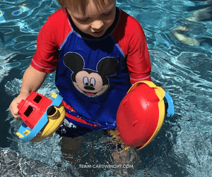 water play and science for little ones
