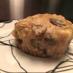 Vegan Banana Raisin Muffins