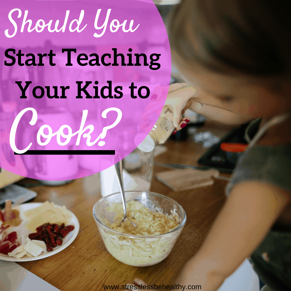 Should You Start Teaching Kids to Cook?