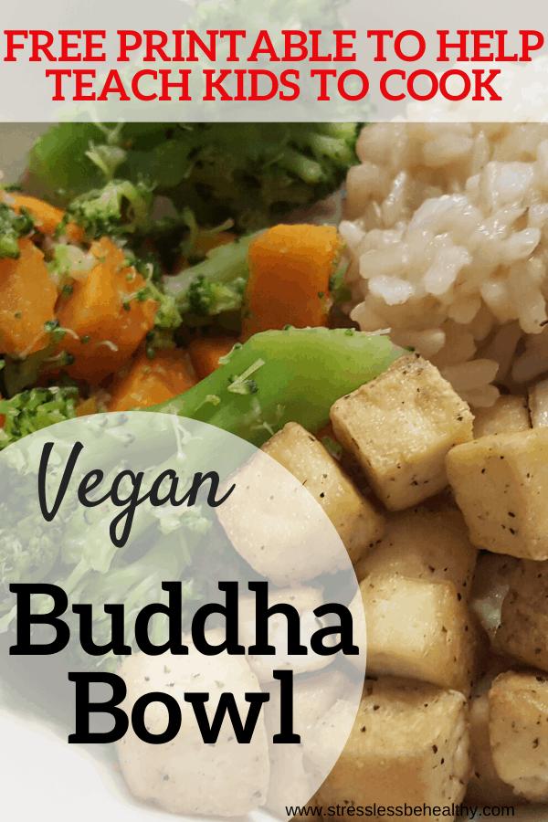 How to Make a Vegan Buddha Bowl with Tofu
