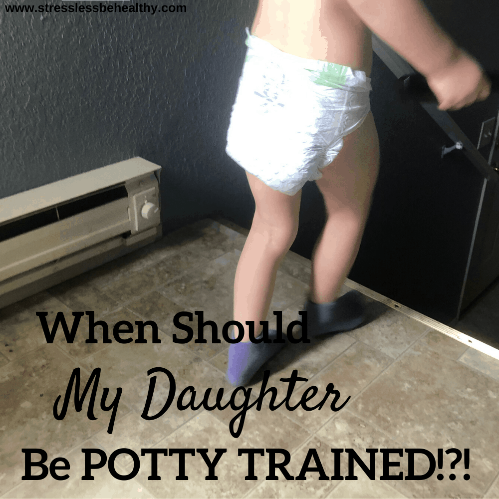 when should my daughter be potty trained