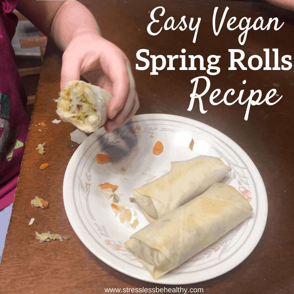 Easy Vegan Spring Rolls Recipe