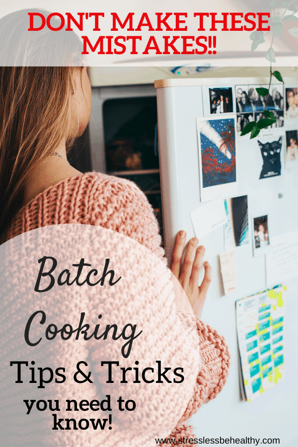 batch cooking tips and tricks you need to know!