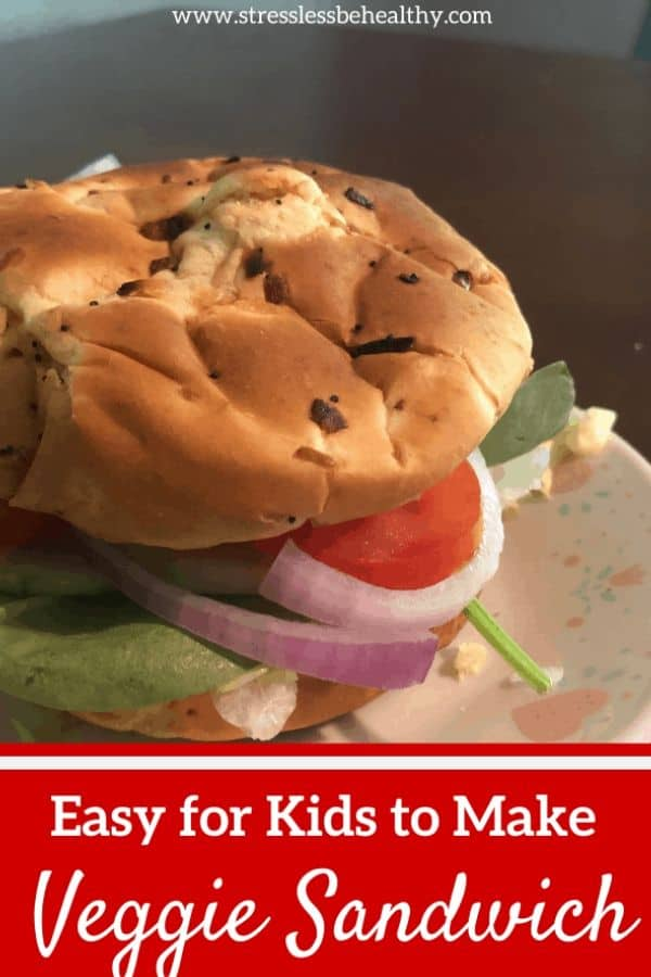 Easy and Healthy Veggie Sandwich Recipe (Have Your Kids Make Lunch)