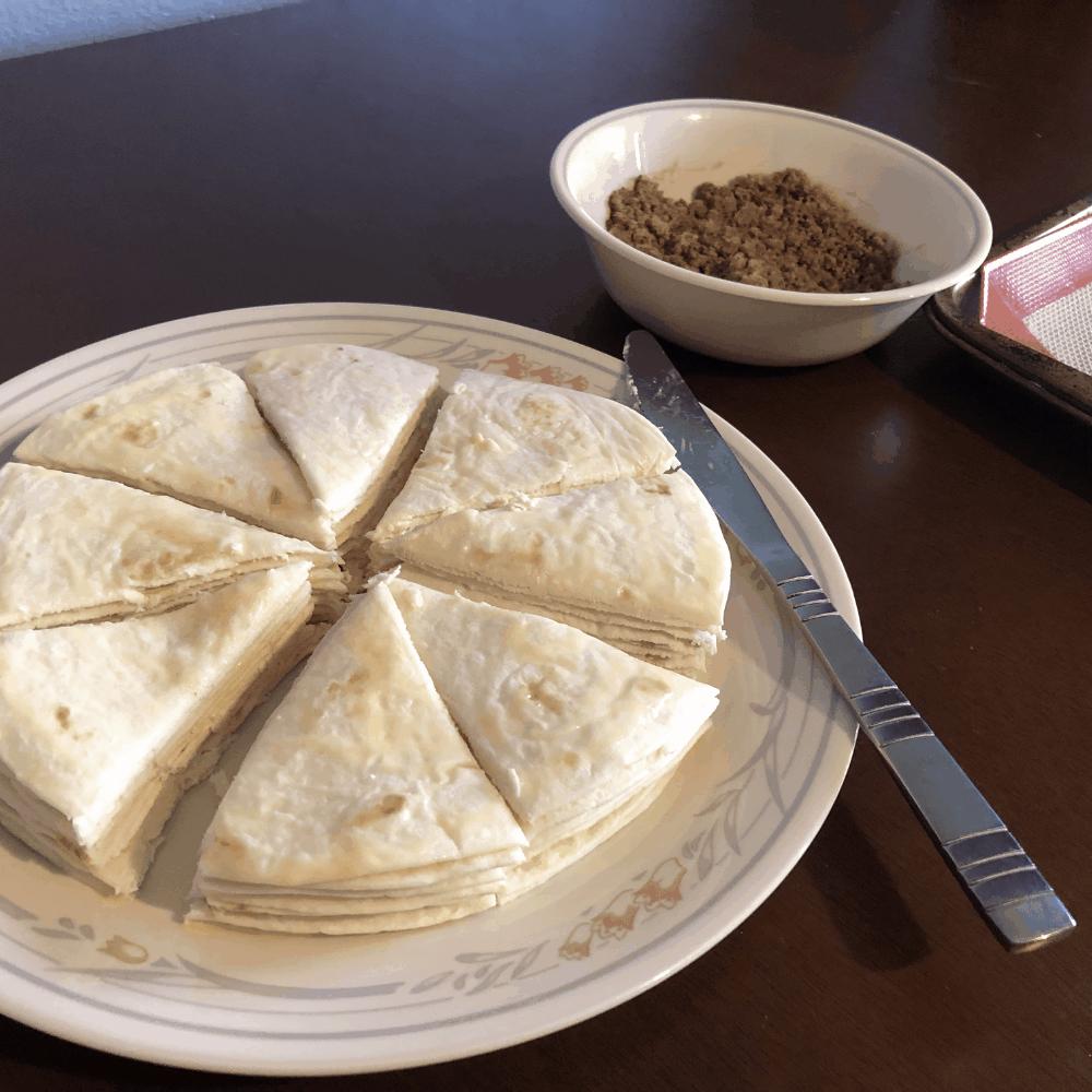 tortillas for sugar and cinnamon tortilla chips