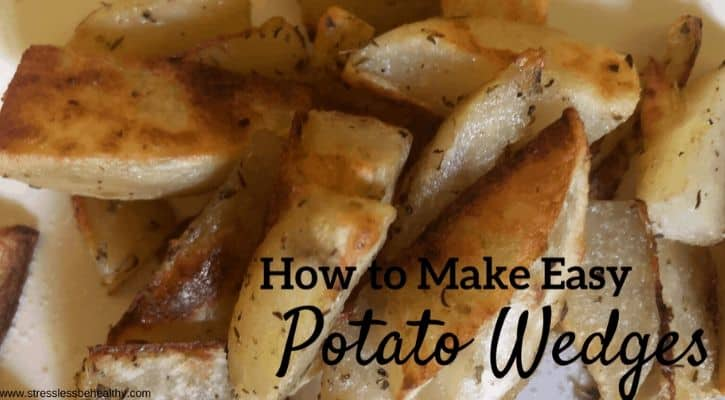How to Make Easy Potato Wedges