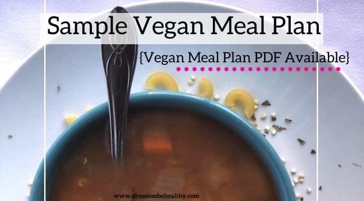 1 week vegan meal plan pdf