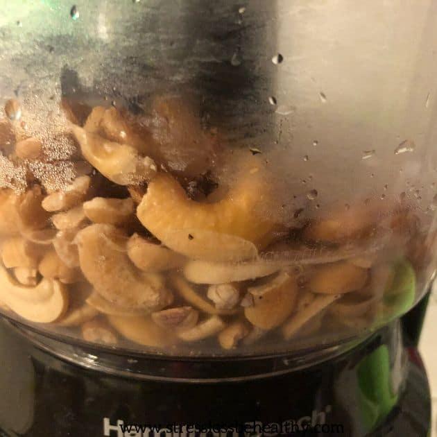 cashew cream for ricotta