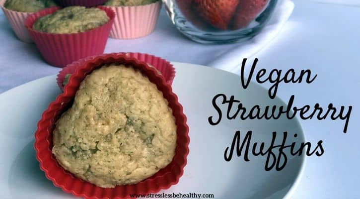 vegan strawberry muffins recipe