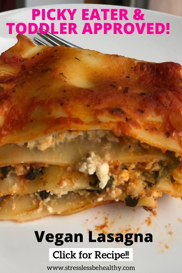 vegan lasagna with tofu ricotta 2