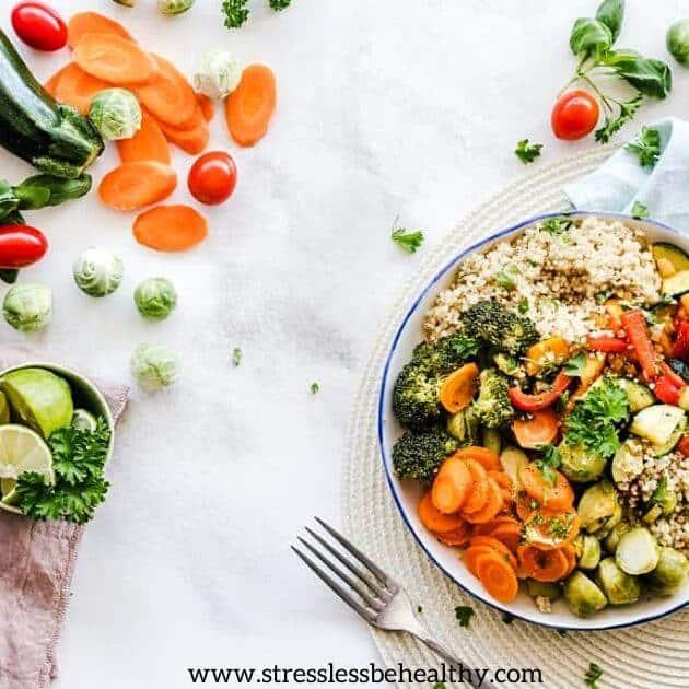 delicious healthy dinner