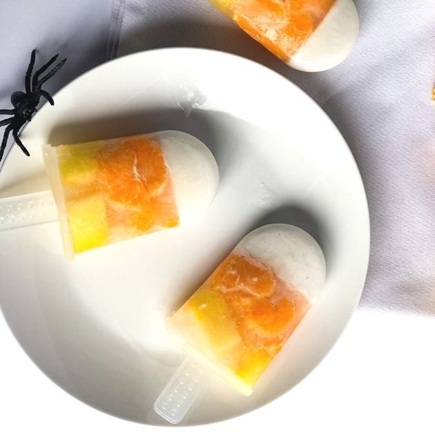 candy corn popsicles | baby popsicle | best popsicles for kids