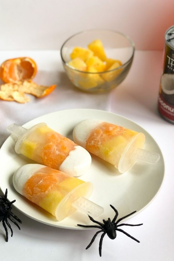candy corn popsicles   baby popsicle   best popsicles for kids