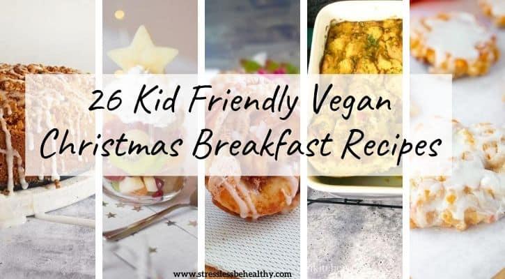 vegan christmas breakfast holiday brunch ideas