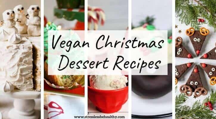 the best vegan christmas desserts