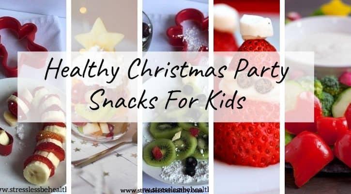 kid christmas party snacks
