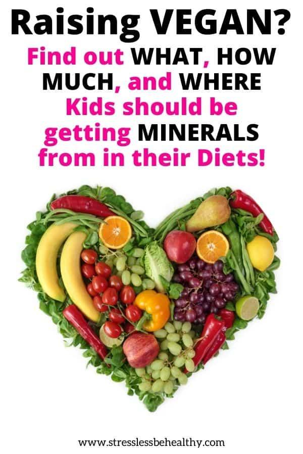 minerals for vegan kids