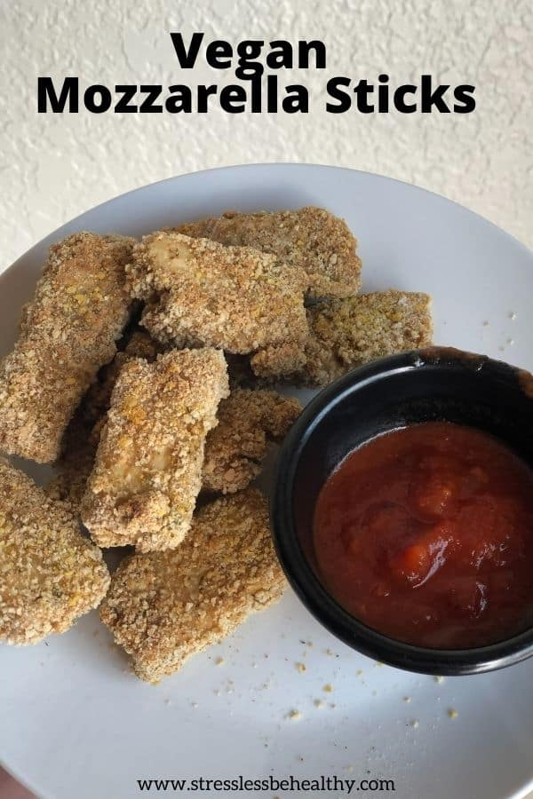 Vegan Mozzarella Sticks Recipe - tofu nuggets