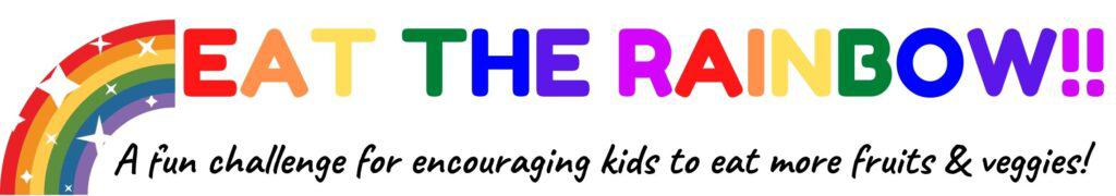 eat the rainbow challenge for kids
