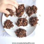 vegan no bake chocolate oatmeal cookies 4