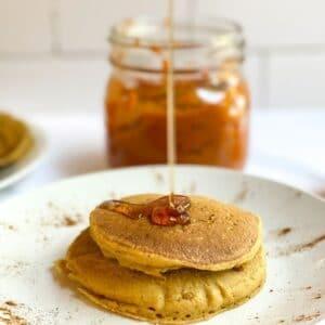 vegan pumpkin pancakes gluten free